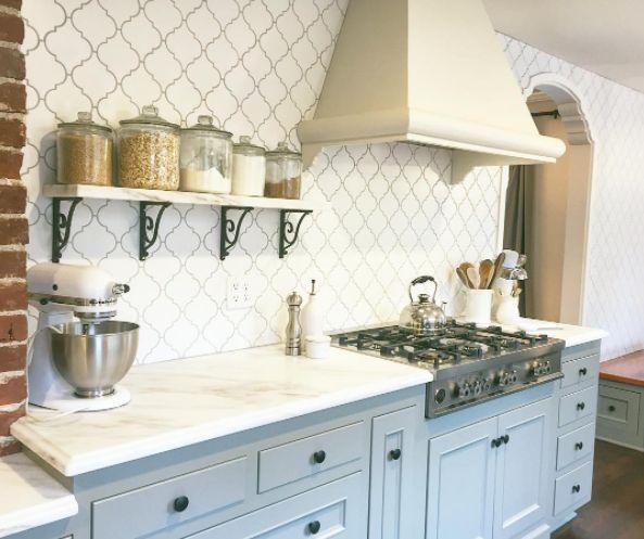 Arabesque Tiles Kitchen Wall: 76 Best Arabesque Tile Images On Pinterest