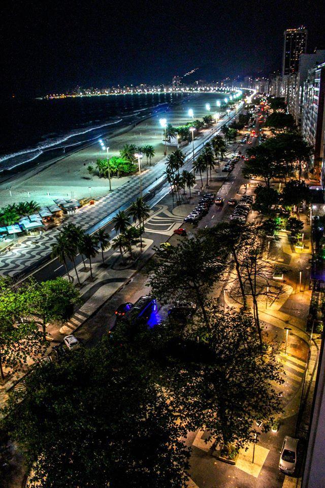 Praia do Leme, Rio de Janeiro, Brasil
