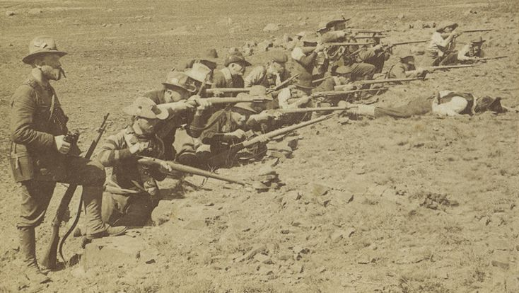 Superior Boer marksmanship and Mauser rifles exacted a high price from the…