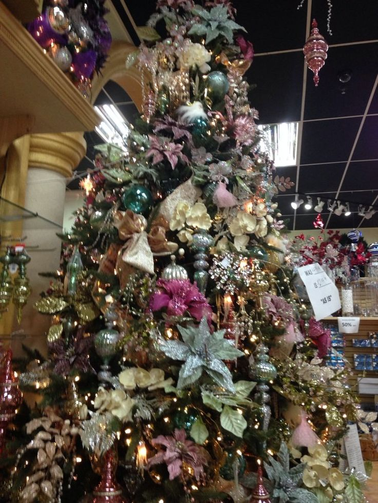 Christmas Palace - Hialeah, FL, United States. They sell pre-decorated trees which are GORGEOUS. Just go to look at them if the prices are too high for you.