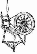 Flyer spinning wheel plans (segmented rim)  1000 Series