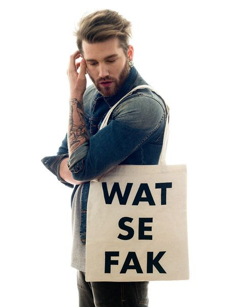 "Baumwollbeutel / Jutebeutel ""Wat se fak"" // Tote back ""What the fuck"" by Jutebeutel via DaWanda.com"