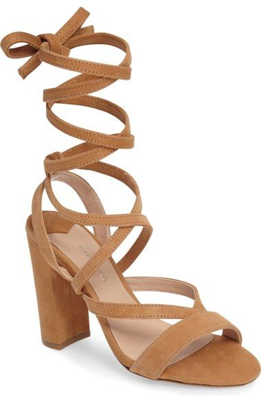 Tony Bianco Kappa Ankle Wrap Sandal (Women) available at #Nordstrom