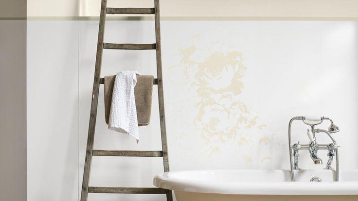 Ambiance romantische badkamer Artisjok Eierschaal Ceramic White (High Gloss)