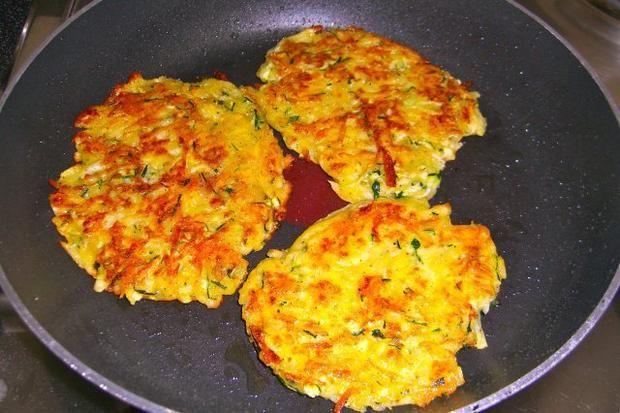 Rezept: Kartoffel-Zucchini-Rösti