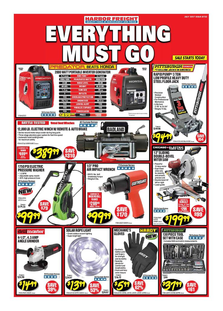 Harbor Freight Tools Monthly Ad July 2017 - http://www.olcatalog.com/harbor-freight-tools/harbor-freight-tools-weekly-flyer.html
