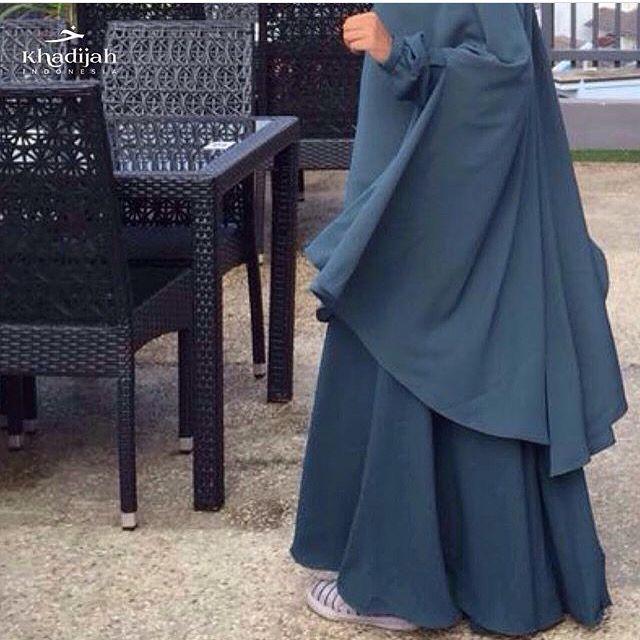 soraya set #khadijahindonesia #khimar #abaya #hijab #modest