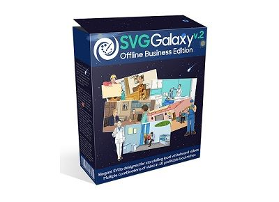 SVG Galaxy v2 Review - SVG Galaxy v2 contains 10 SVG packages in 10 local niches, each of them is designed to make you multiple videos … yes, you will be able to create not one, but multiple videos in each niche.