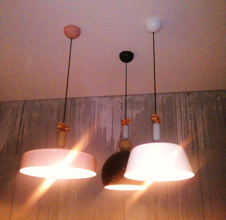 Bon Ton lamps by Italian designer Cristina Celestino for Torremato: we love it! MDW 2015