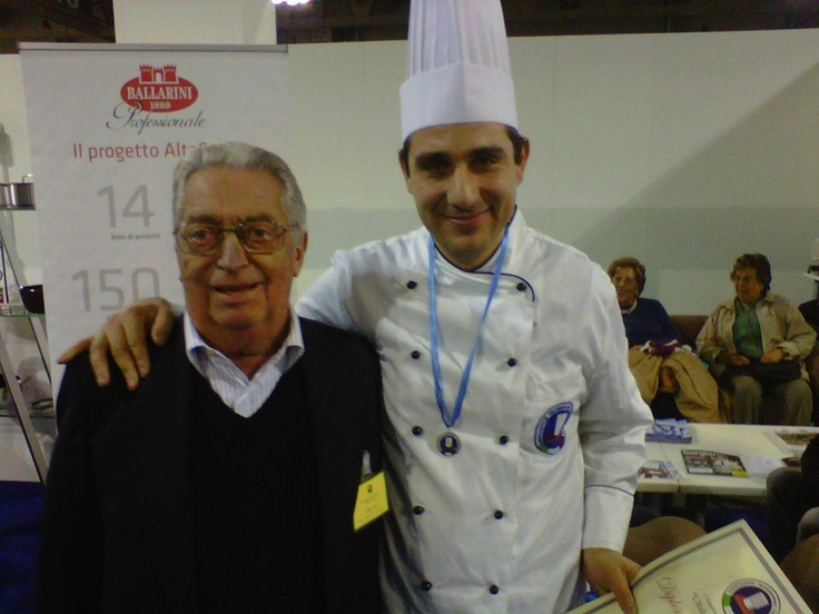 With Carlo Re (RIP)