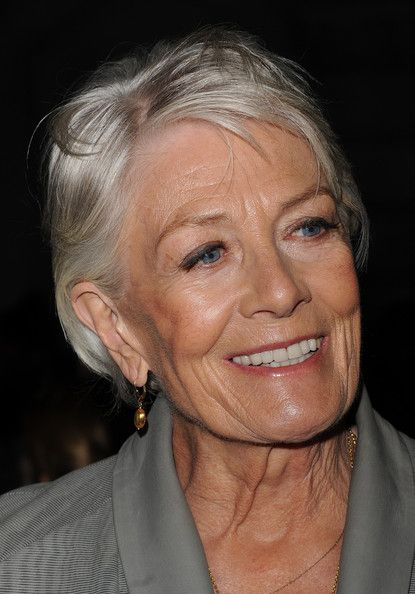 Vanessa Redgrave looked gorgeous with long gray hair, but this haircut is spectacular.