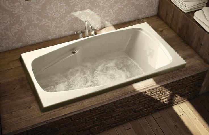 SIMPLICITE Alcove or Drop-in bathtub - MAAX Professional