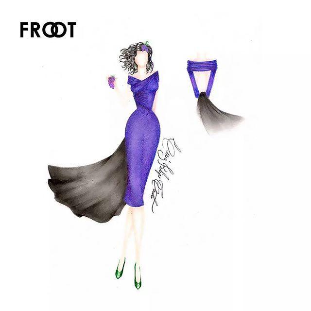 Inspired by @marinagrams #FROOT #MarinaAndTheDiamonds #FashionIllustration #Croqui