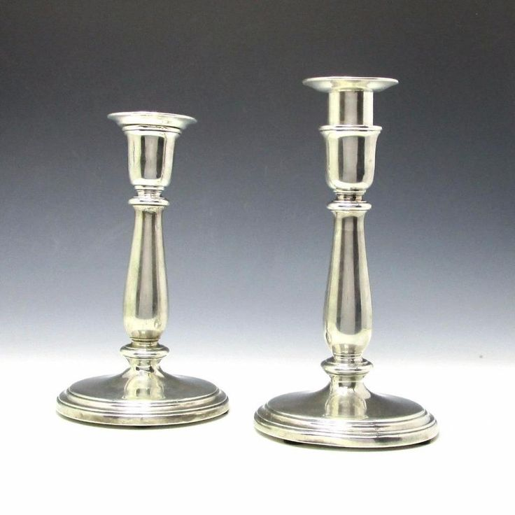 Vintage Tiffany & Co. Weighted Sterling Silver Candle ...