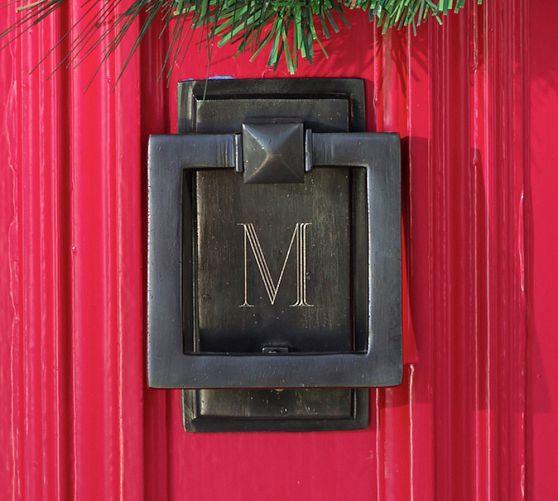 Make Your Front Door Shine With Our Door Knocker, Notable For Its Classic  Shape And Matte Bronze Finish.