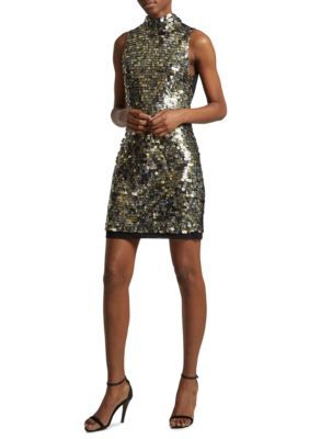 French Connection Women's Moon Rock Sparkle Dress - Moon Rock - 10