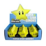 New Super Mario Brothers Super Star Candy Tin