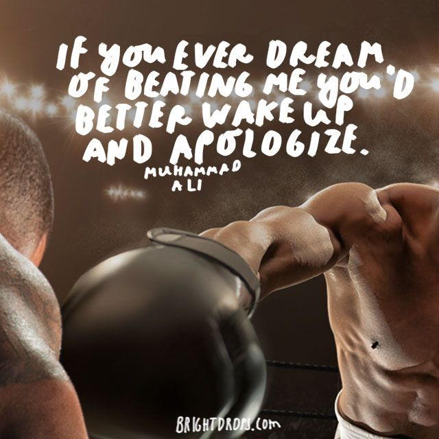 From his sheer dominance in the ring to his polarizing personality out of it, Muhammad Ali will be remembered as one of the greatest boxers and humanitarians in history. We can learn from his attitude and from his words. This small collection of his pearls of wisdom will inspire you for years to...
