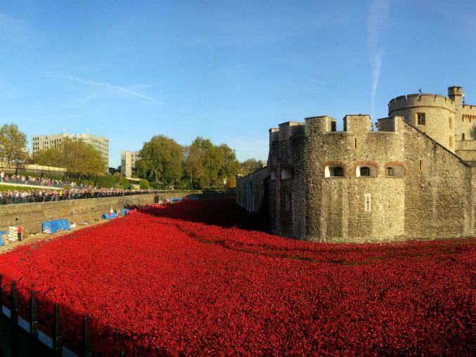 La obra fue hecha en memoria de los soldados caídos en la I Guerra Mundial