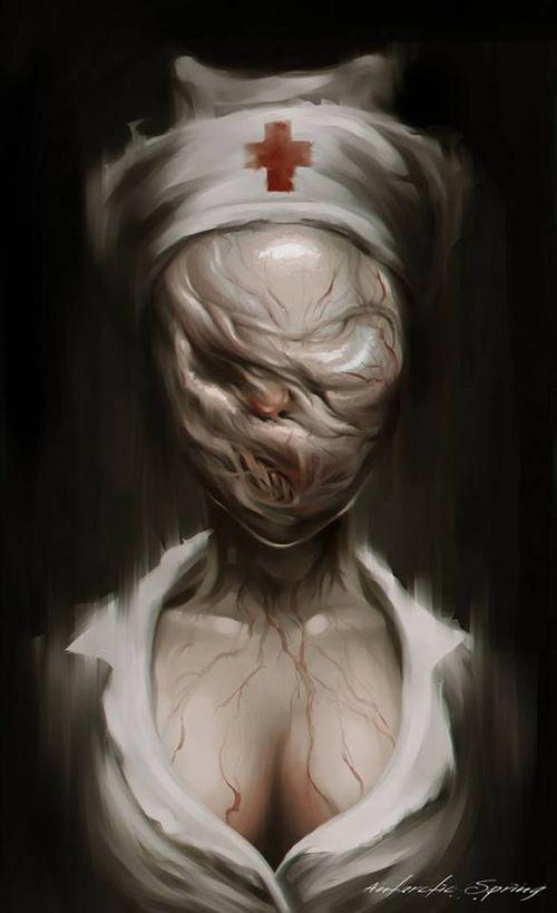Imagen de nurse and silent hill