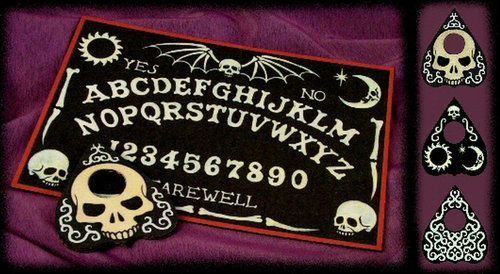 DIY Ouija Witch Board Printable from Ravens Blight. This is a... (via Bloglovin.com )