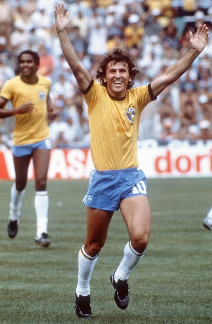 Zico - der weiße Pele. Fußball von einem anderen Stern. Für mich der beste Fußballer aller Zeiten.