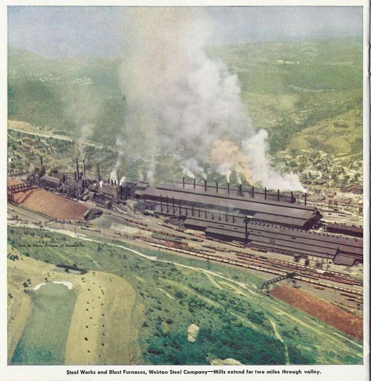 8 best Weirton Steel images on Pinterest | Steel mill ...