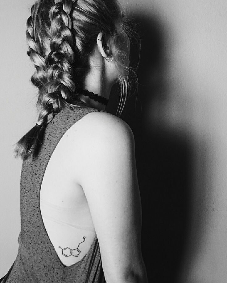 Finally got my serotonin tattoo ❤