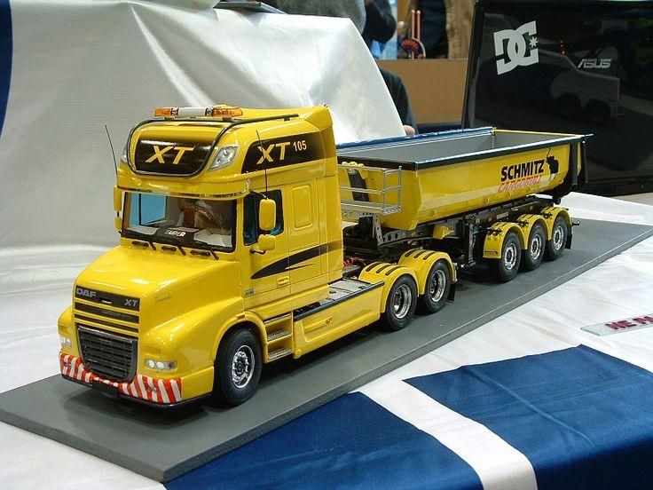 DAF XT Dump Truck.