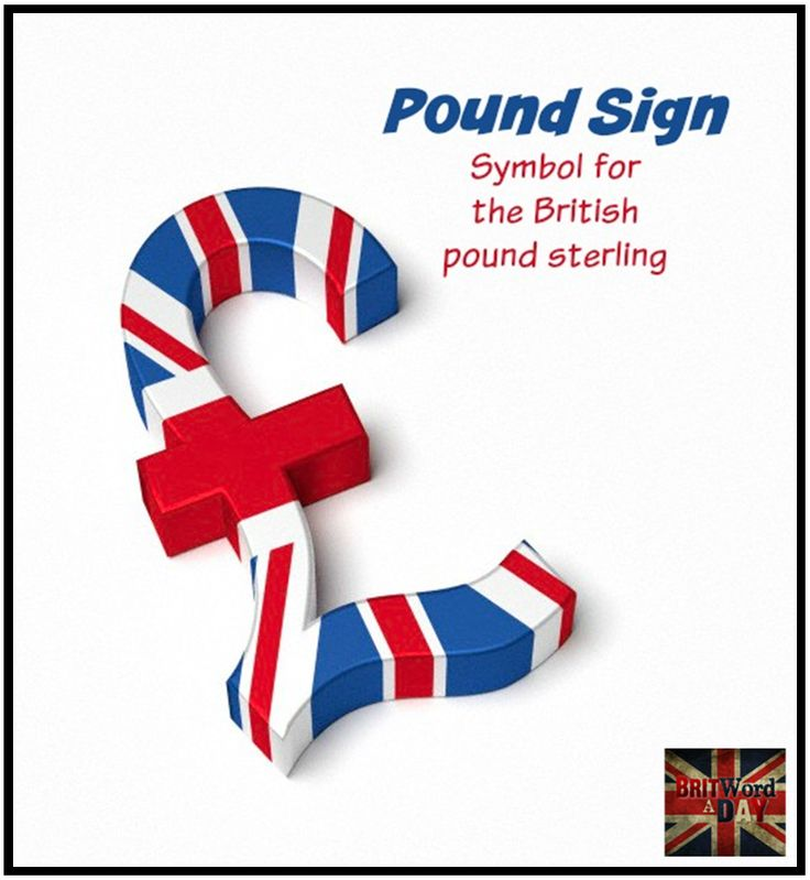 Pound Sign (currency)