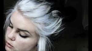 Image result for short silver hair