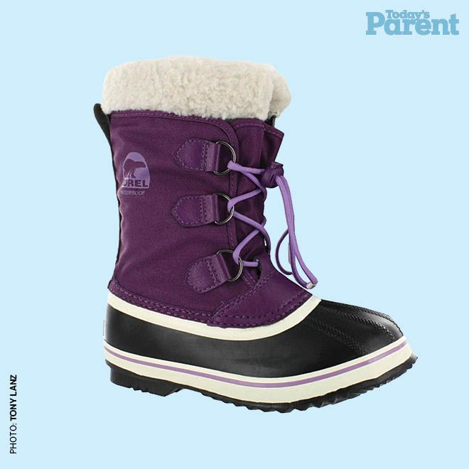 12 cozy winter boots for kids - Sorel Yoot Pac boot, $90, sportinglife.ca #TodaysParent #KidsWinterBoots