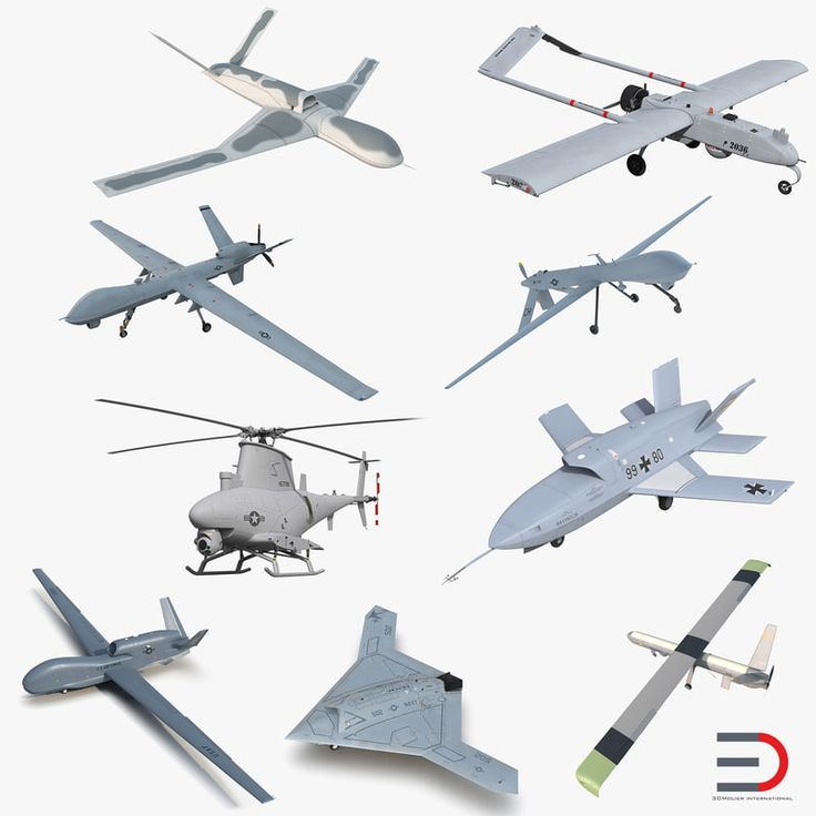 3D UAV Collection 3