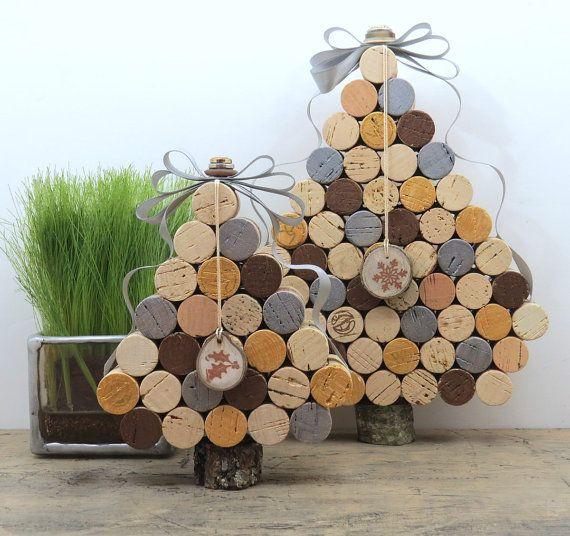 Large Wine Cork Tree in Metallic Shades by 4EyesAndEars on Etsy