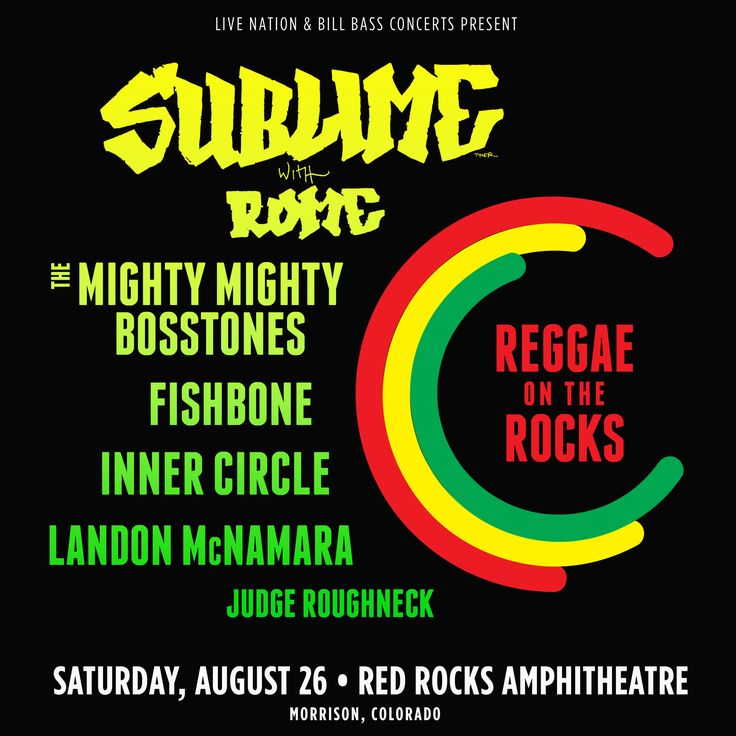 Red Rocks Entertainment Concerts | Concerts Events | Detail | Reggae On Th 8 26 2017
