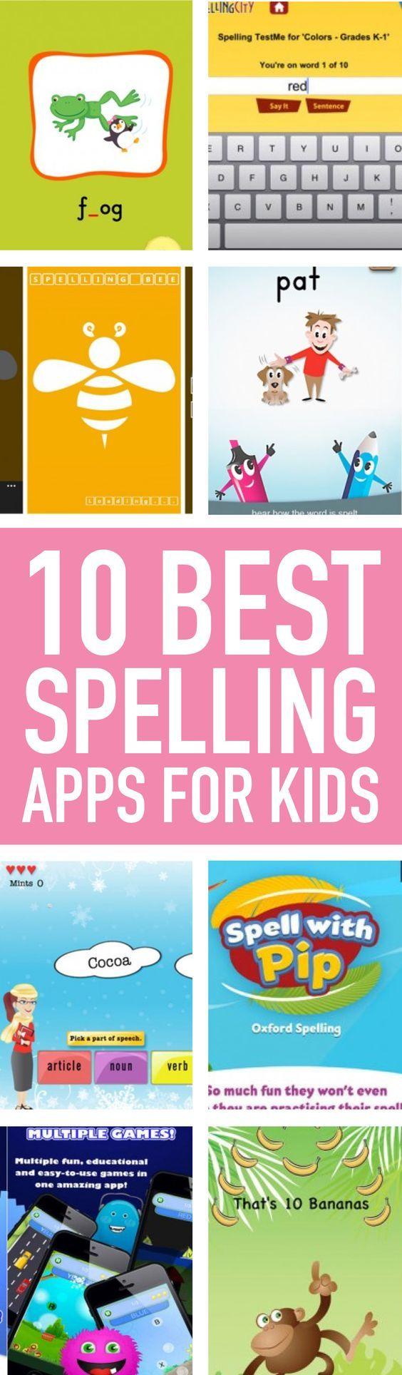 13 best spelling apps for kids