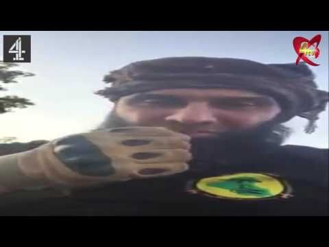 Thich Abu Azrael in barrels Daesh inhabit Fallujah