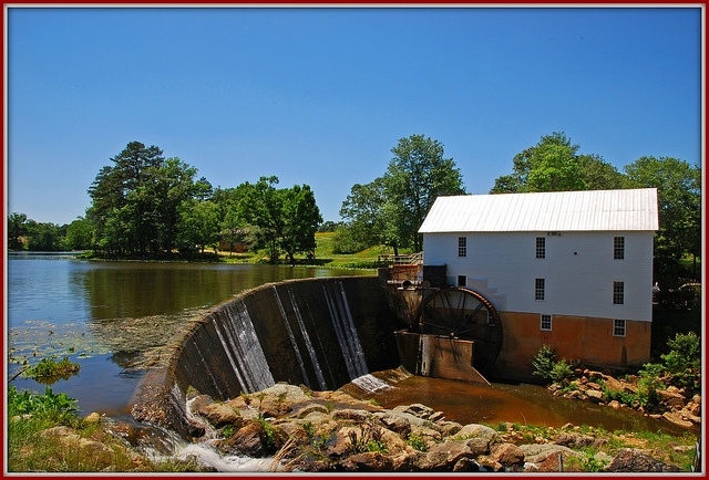Murray's Mill, in Catawba County, NC...just down the road from me...beautiful