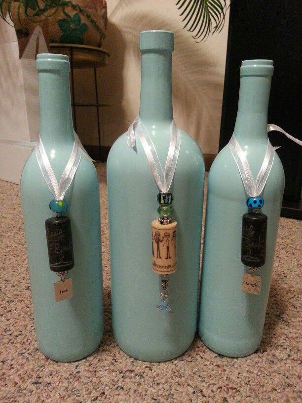 Wine bottle jewelry!