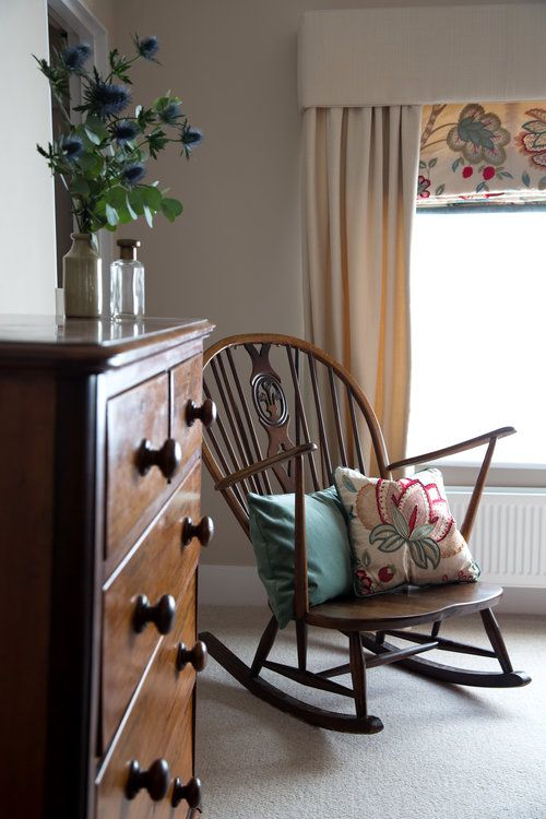 An Elegant Wooden Rocking Chair In A Grade II Listed Holiday Home Battle East Sussex