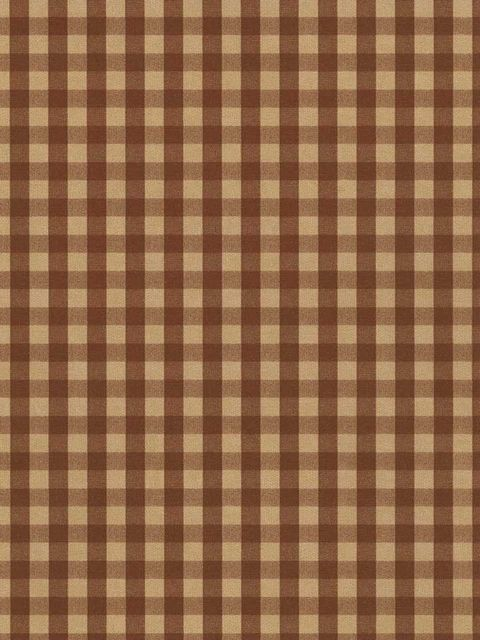Brown and Yellow Plaid Country Wallpaper