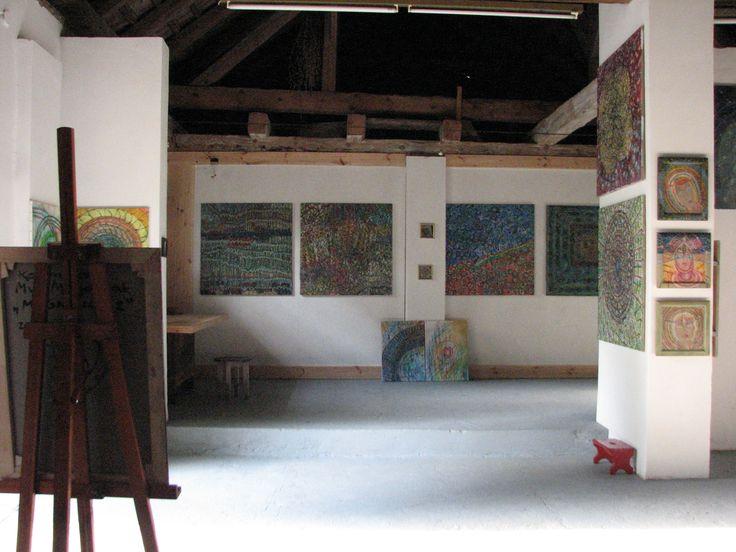 Galeria Sztuki Zadworek...obrazy Kazimiery