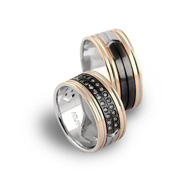 Atlantis Wedding Rings / Alyans