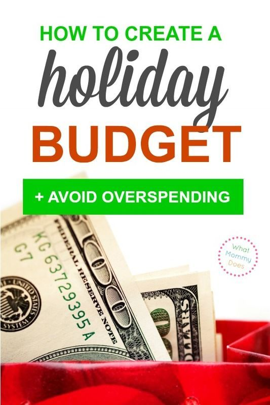 How to Create a Holiday Budget That Works {+ free worksheet Living