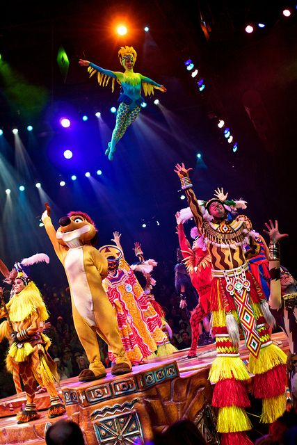Festival of The Lion King, Animal Kingdom, Walt Disney World - one of the absolute best shows I've ever seen