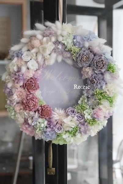preserved flower http://rozicdiary.exblog.jp/23983284/