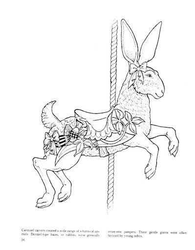 carousel animal coloring pages - photo#29