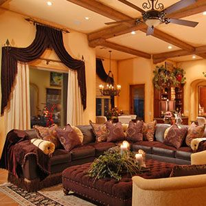 186 best Living room images on Pinterest Tuscan style Tuscan