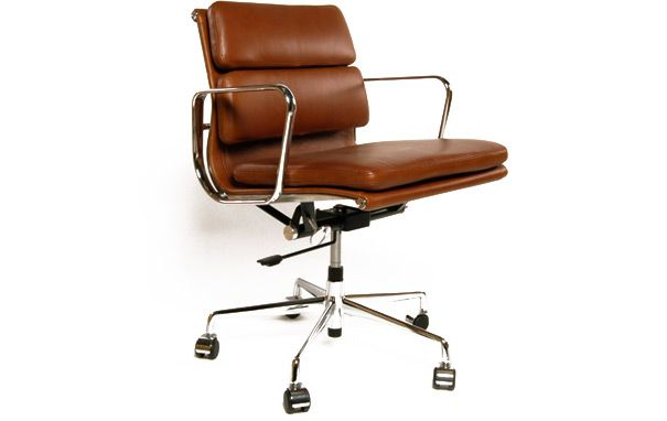 Eames Style EA 217 soft pad office chair from IconicInteriors.com
