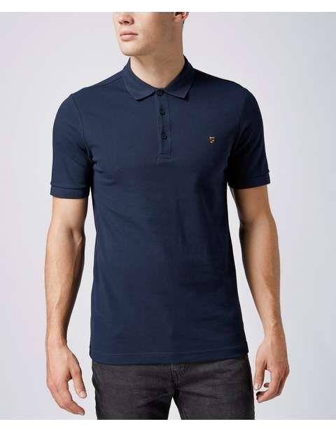 Farah Blaney Pique Polo Shirt | Scotts Menswear